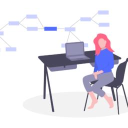 software engineer blue